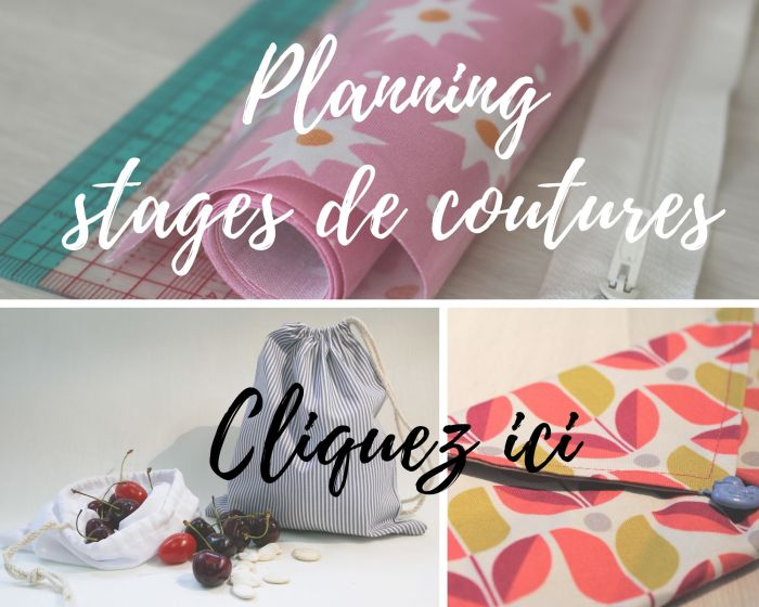 planning stage de couture